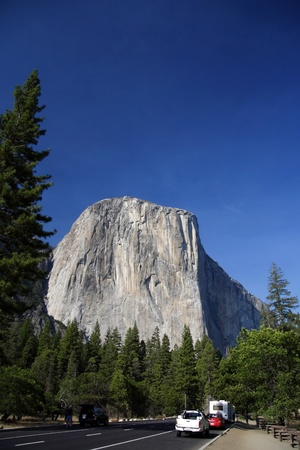 el capitan: El Capitan in Yosemite National Park, California Stock Photo
