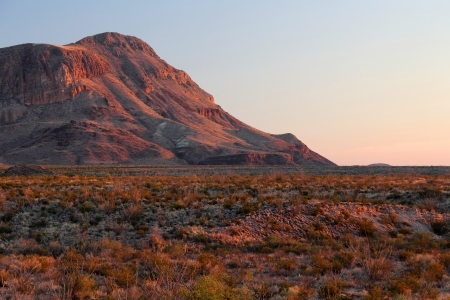 Last Light over the Chihuahuan Desert, Big Bend National Park, Texas
