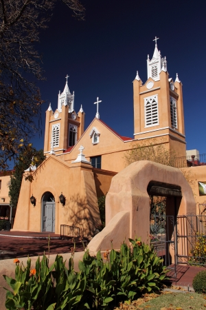 San Felipe de Neri Church, Old Town, Albuquerque, New Mexico Imagens - 24677280