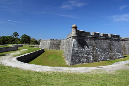 marcos: Castillo De San Marcos National Monument, St  Augustine, Florida Editorial