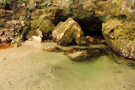 Cavern Entrance along the banks of the Suwannee River in Northern Florida