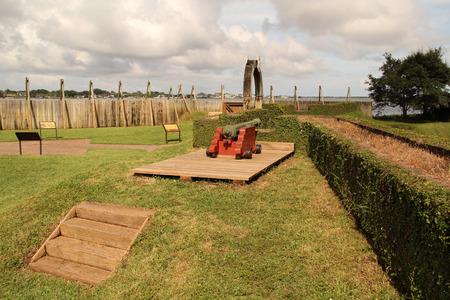 Fort Caroline National Memorial in Jacksonville, Florida