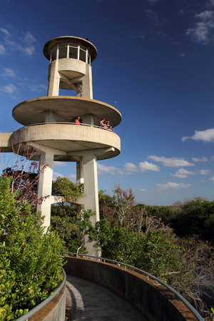 ft lauderdale: Shark Valley Observation Tower, Everglades National Park, Florida