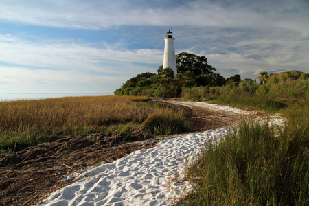 refuge: St. Marks Lighthouse, St. Marks National Wildlife Refuge, Florida Gulf Coast