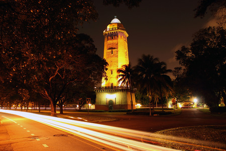 gables: Historic Alhambra Water Tower in Coral Gables, Florida