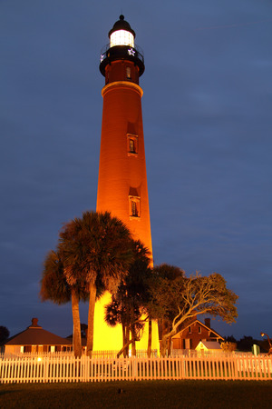 inlet: Historic Ponce Inlet Lighthouse in Savannah, Georgia