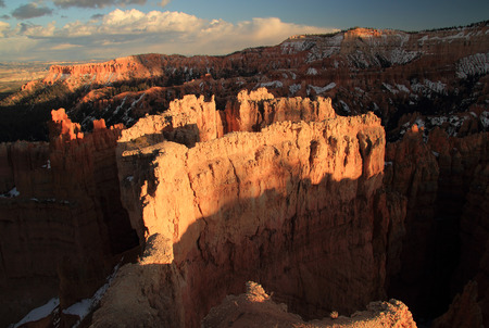 bryce canyon: Scenic landscape in Bryce Canyon National Park, Utah