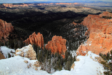Beautiful Bryce Canyon National Park in the State of Utah