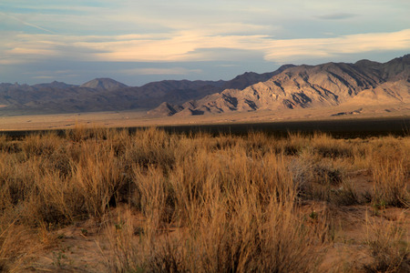 Beautiful California landscape in Mojave National Preserve