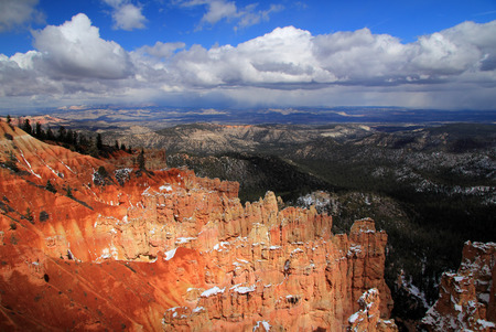 bryce canyon: Bryce Canyon National Park in the state of Utah Stock Photo