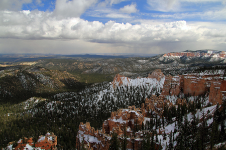 Bryce Canyon National Park in the state of Utah Stock Photo