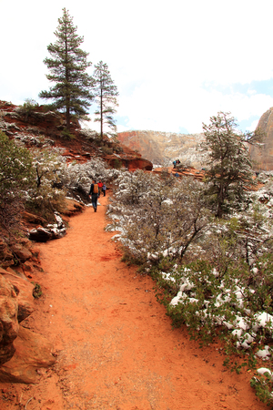 Zion National Park in the State of Utah