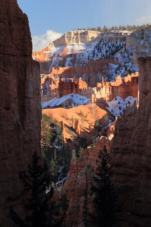 Southwestern Landscape in Bryce Canyon National Park