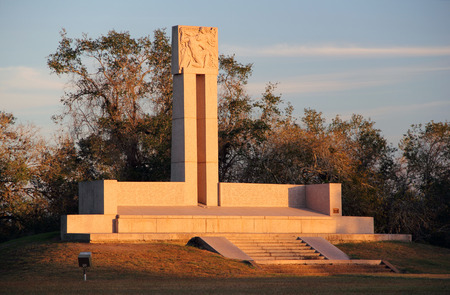 Fannin Memorial Monument, Presidio La Bahia in Goliad, Texas
