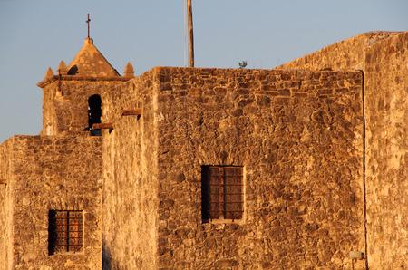 colonial church: Presidio La Bahia in Goliad, Texas