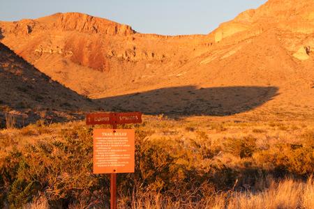 Burro Springs Trailhead, Big Bend National Park, Texas