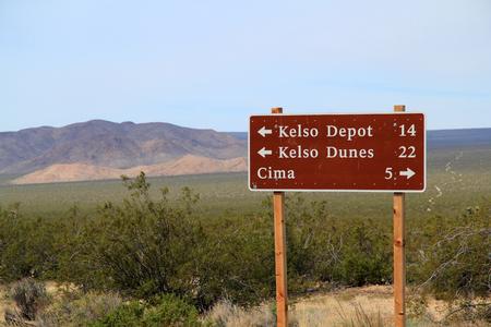 Distances in the Vast Mojave National Preserve in California