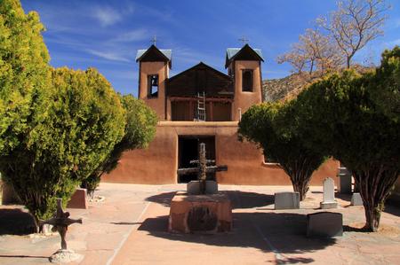 El Santuario de Chimayo along the High Road to Taos in Northern New Mexico
