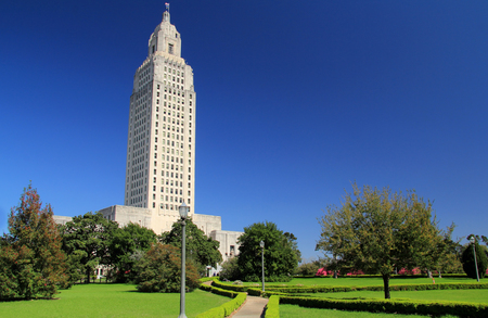 State Capitol Building in the city of Baton Rouge, Louisiana