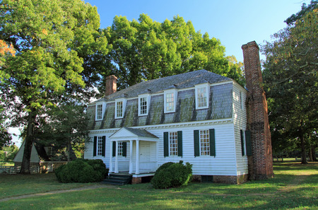 The historic Moore House was the site of negotiations between the British and Americans during the Siege of Yorktown