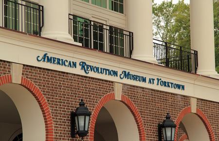Historical reenactors at the American Revolution Museum at Yorktown help provide a fuller understanding of the American colonial experience October 7, 2017 in Yorktown, VA