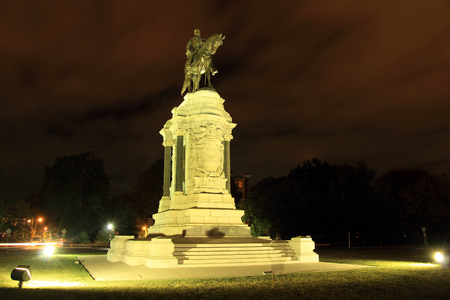 Civil War monuments such as the Robert E. Lee statue on Monument Avenue represent key points of contention in contemporary U.S. politics October 7, 2017 in Richmond, VA.