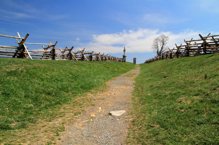 The Sunken Road, known as Bloody Lane, saw some of the fiercest fighting between Union and Confederate forces at the Battle of Antietam, fought on September 17, 1862, during American Civil War