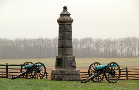 Gettysburg National Military Park is known for the countless Civil War monuments and memorials that dot its landscape April 15, 2018 in Gettysburg, Pennsylvania