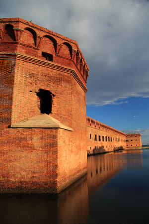 Located on Garden Key in Dry Tortugas National Park, Fort Jefferson is perhaps the most isolated and intricately built of all the Civil War era military fortifications constructed in the United States