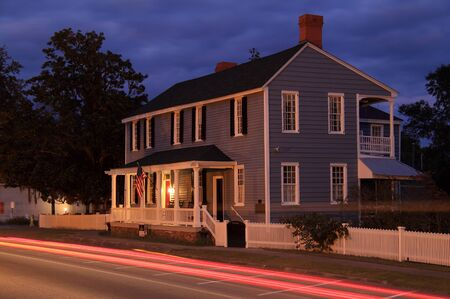 The historic Clark Home is famous for serving as Aaron Burr's temporary hideout following his infamous dual with Alexander Hamilton