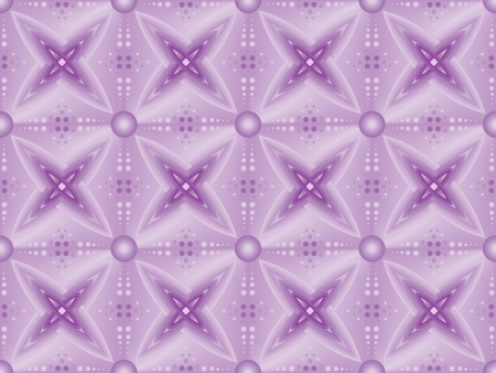 Violet Star Seamless Abstract Vector Pattern  Vector