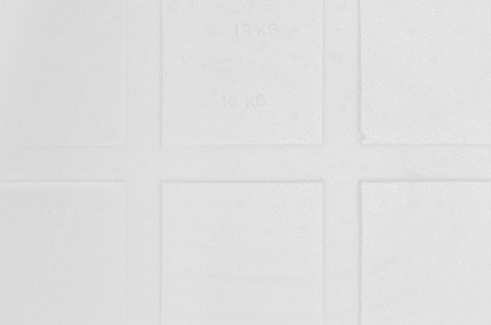 styrene: White foam board background  Stock Photo