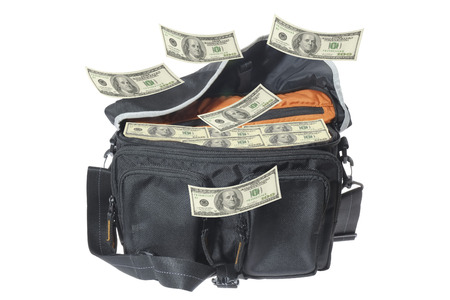 transfer pricing: Hundred-dollar bills falling  to the bag