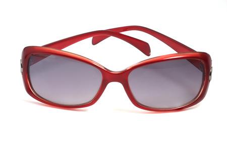 womenīŋŊs: Women s red sunglasses on white background