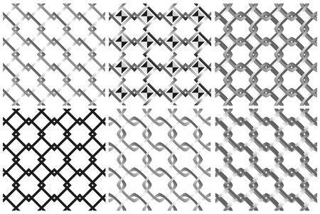 mash: Mash pattern on white background.