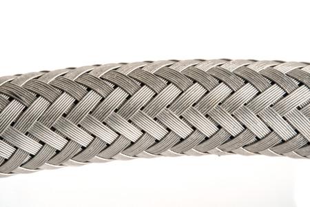 Close up texture of dirty inlet hose. Stok Fotoğraf