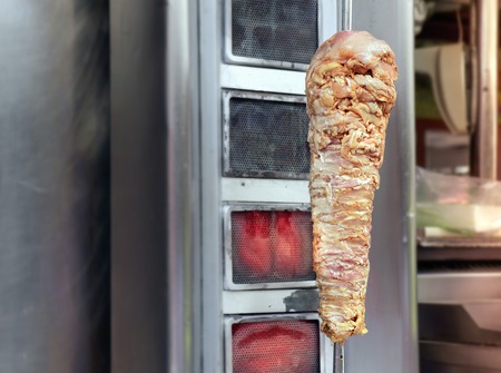 kabob: Grilled meat Kebab (also called kebap, kabab and kabob) traditional Middle East food.