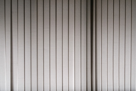 dim light: White canvas curtain with dim light, texture background.