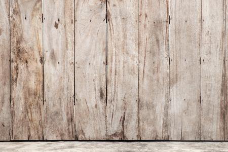 Mening van houten muurtextuur. Stockfoto