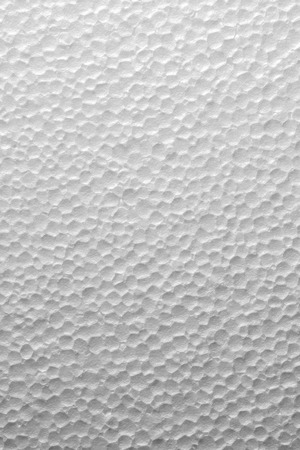 Abstract texture background of styrofoam.