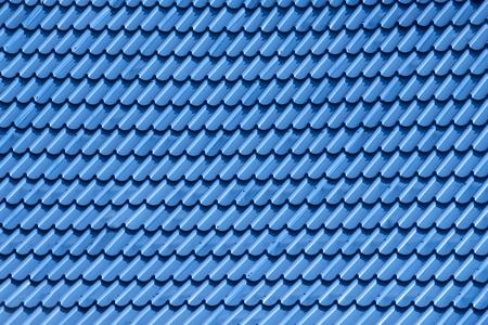 aluminum: View of zinc roof background. Stock Photo