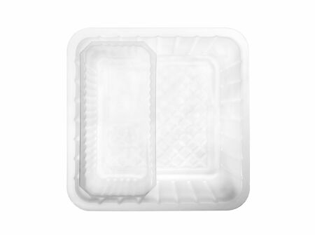 Plastic container on white background. 免版税图像 - 146525226