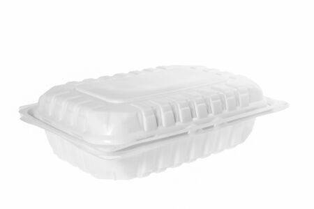 Plastic container on white background. 免版税图像 - 147279611