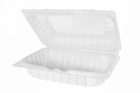 Plastic container on white background. 免版税图像 - 147279096