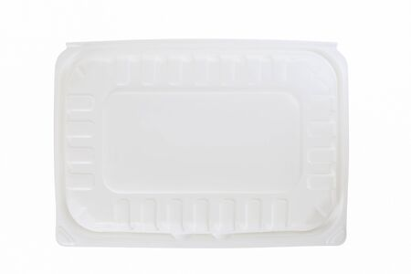 Plastic container on white background. 免版税图像 - 147279106