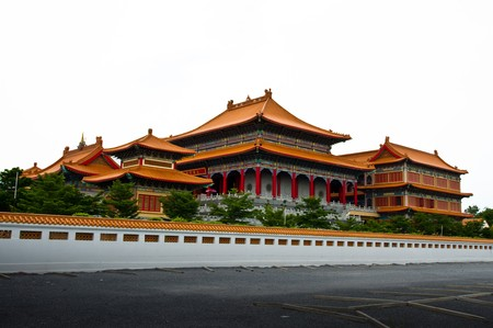 chinese style temple in  Thailand