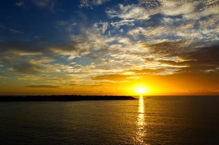Sunrise at Cha-am,Thailand