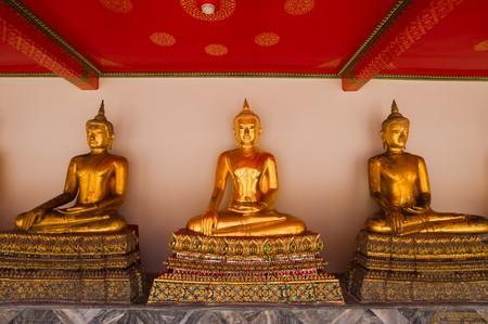 Buddha statues  Stock Photo