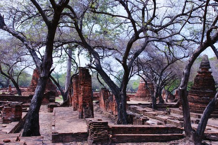 ancient ruins of temple in Thailand Stock Photo - 7437552