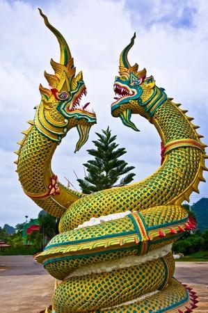 Dragon statue in Thailand